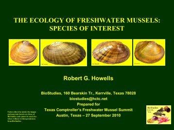 Howells Freshwater Mussels App