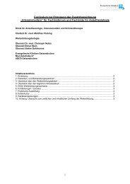 Curriculum zur Erlangung der Zusatzbezeichnung