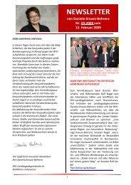 NEWSLETTER 03-2009 - Daniela Behrens