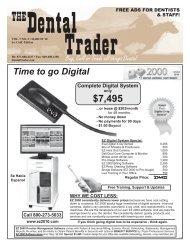 877-888-4237 • Fax - The Dental Trader