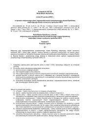 Uchwała Nr X/67/03 Rady Miasta Rydułtowy z dnia 24 czerwca ...