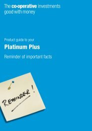 Platinum Plus Product Guide - Royal London