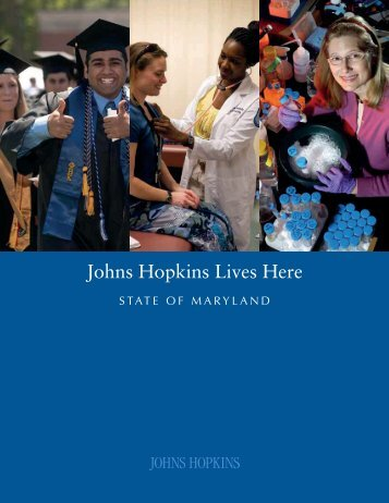 Johns Hopkins Lives Here: State of Maryland - Appleseed