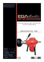 DRAINMATIC 100 - Ega Master