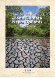 BONN CLIMATE NEWS UPDATES - Third World Network
