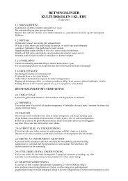 Retningslinjer - Lokal tjenestekatalog
