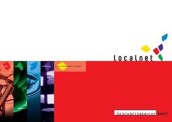 Geschäftsbericht 2007 (pdf) - Localnet AG