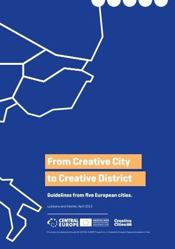 Creative Cities - Cilj 3