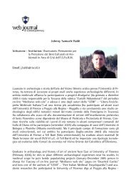 Johnny Samuele BALDI - web journal