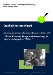 Berichte aus Praxis, Forschung und Entwicklung in der Sozialen Arbeit