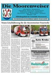 Neues Löschfahrzeug für die Moorenweiser Feuerwehr - Gemeinde ...