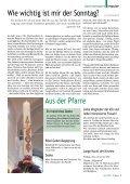 Informationszeitung des Pfarrverbandes Gleisdorf, Hartmannsdorf - Page 5