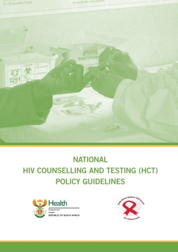 national hiv counselling and testing (hct) policy guidelines