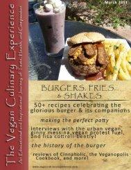 the fabulous burger - Vegan Culinary Experience