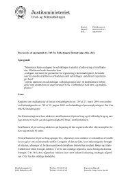 Oplysninger til retsudvalget om omfanget af straffeattester i ... - Krim