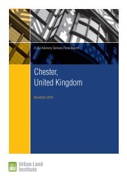 Chester Report(2). - Urban Land Institute