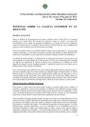 La Galicia exterior en el siglo XXI - Secretaría Xeral da Emigración ...