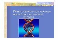 prenatal ve postnatal moleküler tanı testleri - Düzen Laboratuvarlar ...