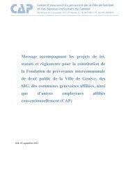 12-176-Annexe 9 PR CAP - Ville de Genève