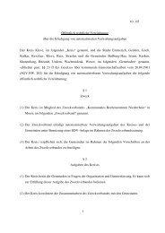 1 10 - 05 Öffentlich-rechtliche Vereinbarung über die ... - Kleve
