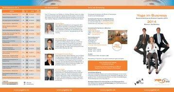 Ausbildung Yoga im Business - Yoga Vidya