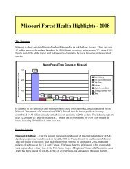 MO - Forest Health Monitoring - USDA Forest Service