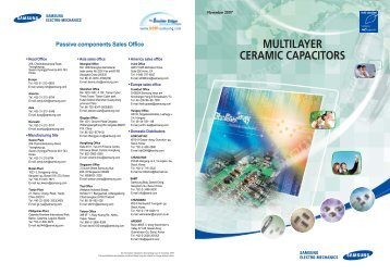 MULTILAYER CERAMIC CAPACITORS - PC Components