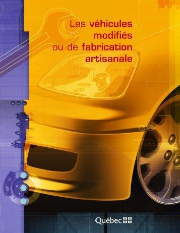 Les véhicule modifiés ou de fabrication artisanale - Ville de ...
