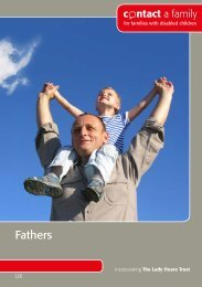 Fathers - Contact a Family