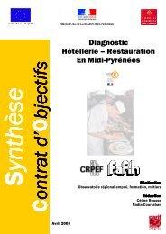 Diagnostic Hôtellerie – Restauration En Midi-Pyrénées
