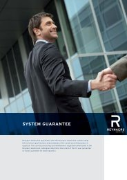 SYSTEM GUARANTEE - buildingsystemssolutions.co.uk