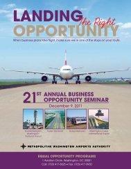 Business Opportunity Seminar Handbook - Metropolitan Washington ...