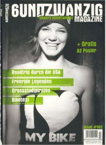 6undZwanzig Magazine #002 Februar & Marz 2011 14,SO€ - Norco