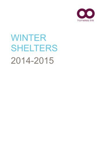 Winter Shelters 2014-15