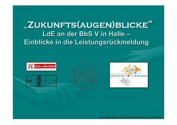 """Zukunfts(augen)blicke"" - Service-Learning"