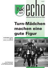 TVK-Echo 2/2012 - Turnverein 1877 eV Essen-Kupferdreh