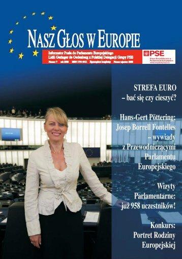 Przewodniczący Parlamentu Europejskiego - Lidia Geringer de ...