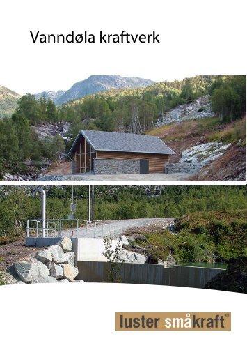 Vanndøla kraftverk - Luster Energiverk