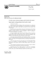 20.07.2006 - General Assembly - Draft resolution on the reform of ...