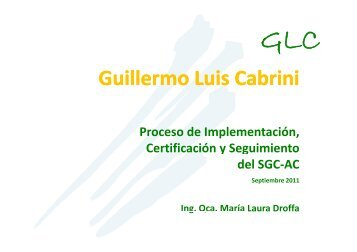 Guillermo Luis Cabrini - Mercosoja 2011