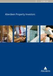 Aberdeen Property Investors Aberdeen Property Investors