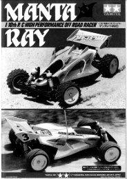 Tamiya Manta Ray Manual - Wheelsacademy.info