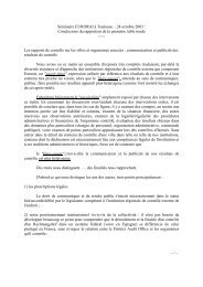 Séminaire EURORAI à Toulouse – 24 octobre 2003 ... - Eurorai.org