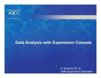 Data Analysis with EC - VHIR