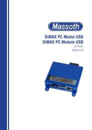 DiMAX PC Modul USB DiMAX PC Module USB - Massoth