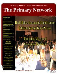 The Primary Network - Louisiana Primary Care Association