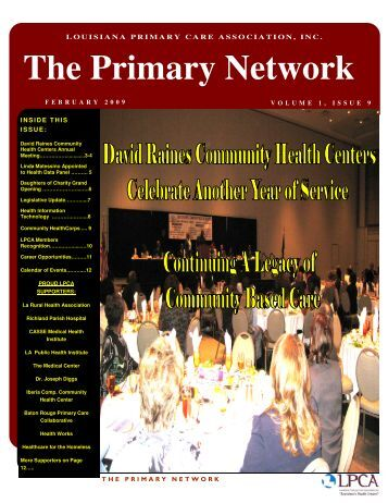 2015 Fall Primary Care Conference Program