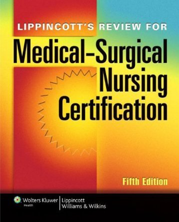 555-Lippincott's Review for Medical-Surgical Nursing Certification, Fifth Edition-Lippincott-1451