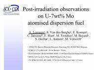 Post-irradiation Examination of Uranium-7wt%Molybdenum ...