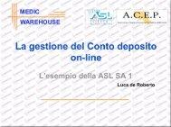 De Roberto Luca - presentazioneacep3 - fareonline.it